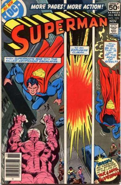 Superman #329 comic books for sale