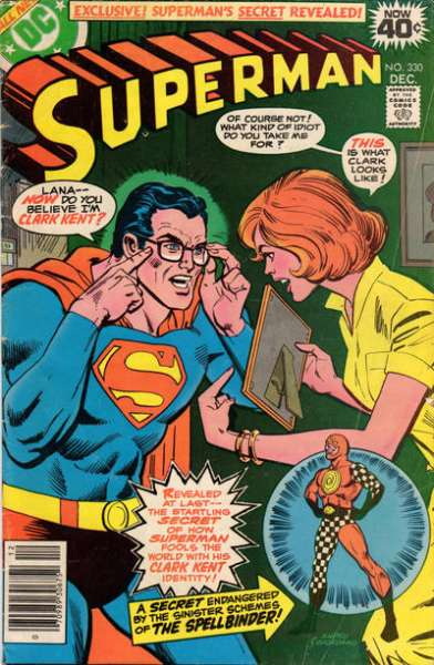 Superman #330 Comic Books - Covers, Scans, Photos  in Superman Comic Books - Covers, Scans, Gallery