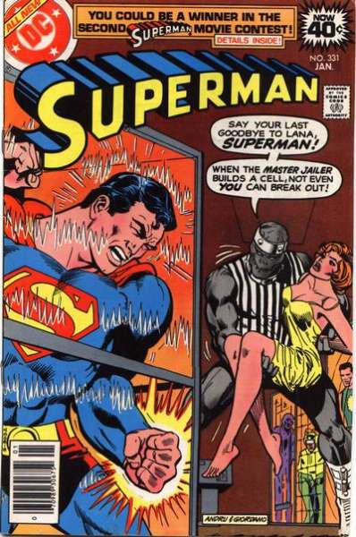 Superman #331 Comic Books - Covers, Scans, Photos  in Superman Comic Books - Covers, Scans, Gallery