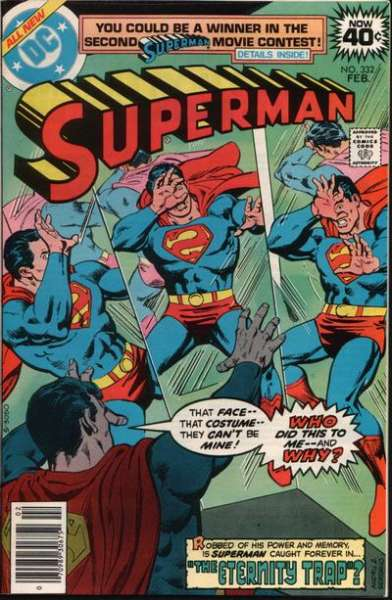 Superman #332 Comic Books - Covers, Scans, Photos  in Superman Comic Books - Covers, Scans, Gallery
