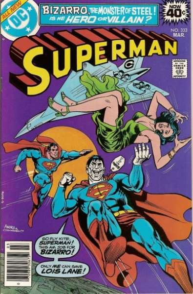 Superman #333 comic books - cover scans photos Superman #333 comic books - covers, picture gallery