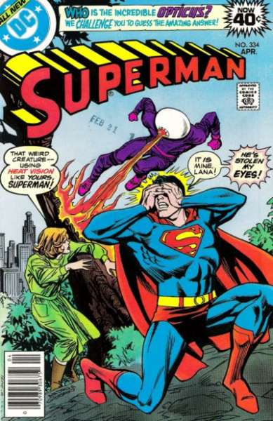 Superman #334 comic books - cover scans photos Superman #334 comic books - covers, picture gallery