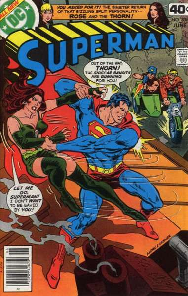 Superman #336 Comic Books - Covers, Scans, Photos  in Superman Comic Books - Covers, Scans, Gallery