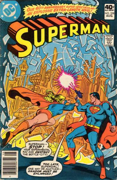 Superman #338 comic books - cover scans photos Superman #338 comic books - covers, picture gallery
