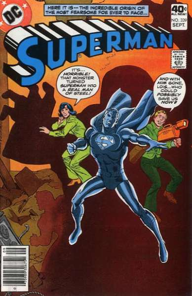 Superman #339 Comic Books - Covers, Scans, Photos  in Superman Comic Books - Covers, Scans, Gallery