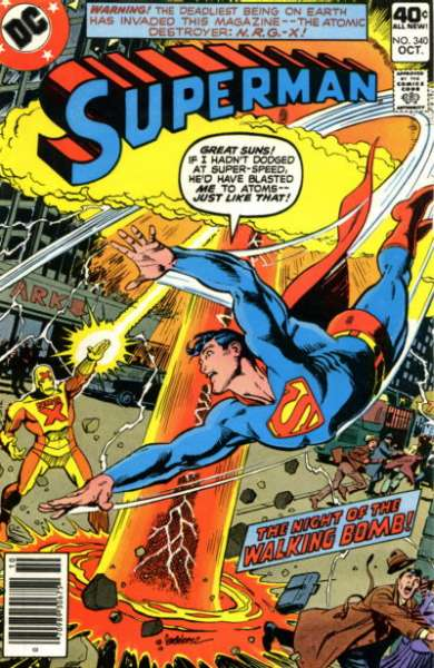 Superman #340 Comic Books - Covers, Scans, Photos  in Superman Comic Books - Covers, Scans, Gallery