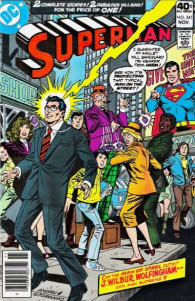Superman #341 Comic Books - Covers, Scans, Photos  in Superman Comic Books - Covers, Scans, Gallery