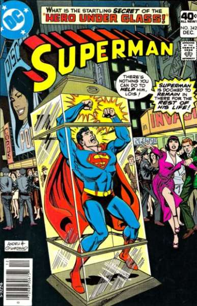 Superman #342 comic books - cover scans photos Superman #342 comic books - covers, picture gallery
