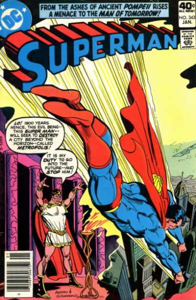 Superman #343 Comic Books - Covers, Scans, Photos  in Superman Comic Books - Covers, Scans, Gallery