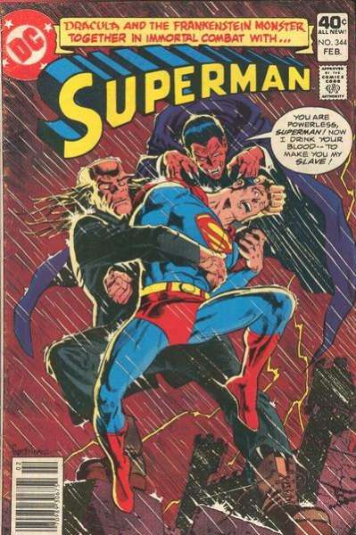 Superman #344 Comic Books - Covers, Scans, Photos  in Superman Comic Books - Covers, Scans, Gallery