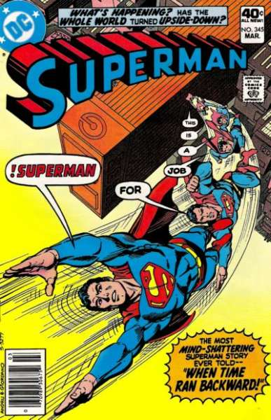 Superman #345 comic books - cover scans photos Superman #345 comic books - covers, picture gallery