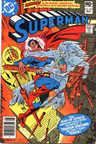 Superman #347 comic books - cover scans photos Superman #347 comic books - covers, picture gallery