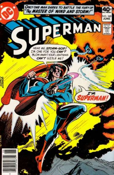 Superman #348 comic books - cover scans photos Superman #348 comic books - covers, picture gallery