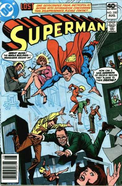 Superman #350 comic books - cover scans photos Superman #350 comic books - covers, picture gallery