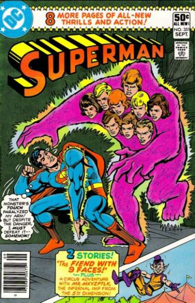 Superman #351 comic books - cover scans photos Superman #351 comic books - covers, picture gallery