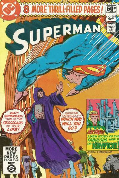 Superman #352 comic books - cover scans photos Superman #352 comic books - covers, picture gallery