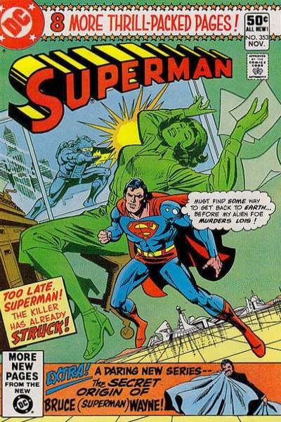 Superman #353 Comic Books - Covers, Scans, Photos  in Superman Comic Books - Covers, Scans, Gallery