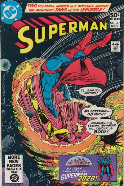 Superman #357 cheap bargain discounted comic books Superman #357 comic books