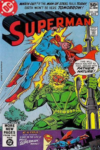 Superman #358 Comic Books - Covers, Scans, Photos  in Superman Comic Books - Covers, Scans, Gallery