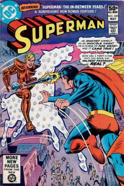 Superman #359 comic books - cover scans photos Superman #359 comic books - covers, picture gallery