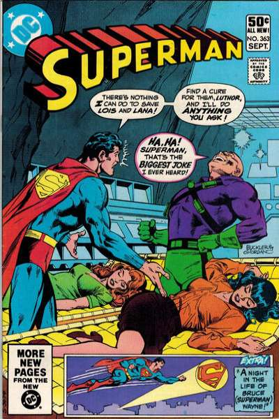 Superman #363 comic books - cover scans photos Superman #363 comic books - covers, picture gallery