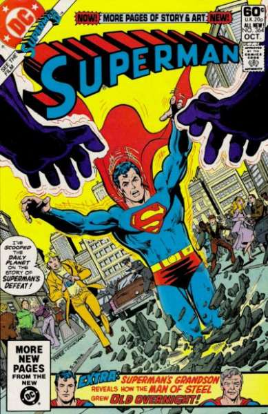 Superman #364 comic books - cover scans photos Superman #364 comic books - covers, picture gallery