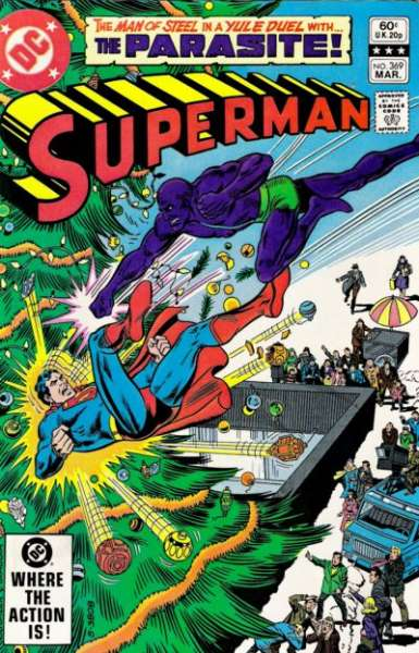 Superman #369 Comic Books - Covers, Scans, Photos  in Superman Comic Books - Covers, Scans, Gallery