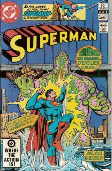 Superman #370 comic books - cover scans photos Superman #370 comic books - covers, picture gallery