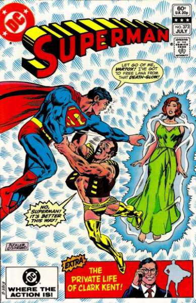 Superman #373 Comic Books - Covers, Scans, Photos  in Superman Comic Books - Covers, Scans, Gallery