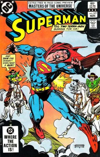 Superman #377 Comic Books - Covers, Scans, Photos  in Superman Comic Books - Covers, Scans, Gallery