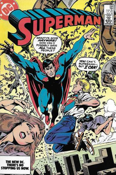 Superman #398 Comic Books - Covers, Scans, Photos  in Superman Comic Books - Covers, Scans, Gallery