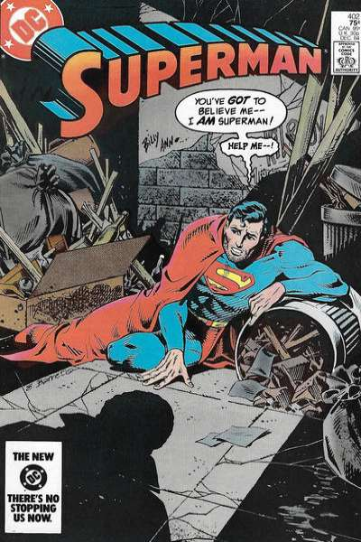 Superman #402 comic books - cover scans photos Superman #402 comic books - covers, picture gallery