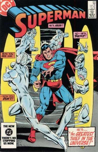 Superman #403 Comic Books - Covers, Scans, Photos  in Superman Comic Books - Covers, Scans, Gallery