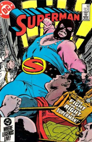 Superman #406 comic books for sale