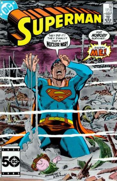Superman #408 comic books - cover scans photos Superman #408 comic books - covers, picture gallery