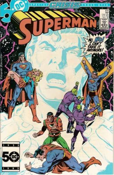 Superman #414 comic books - cover scans photos Superman #414 comic books - covers, picture gallery