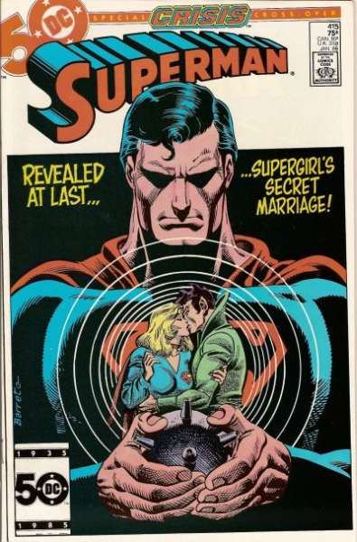 Superman #415 comic books - cover scans photos Superman #415 comic books - covers, picture gallery