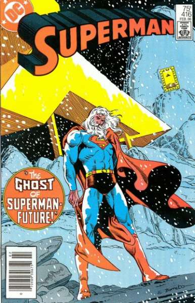 Superman #416 Comic Books - Covers, Scans, Photos  in Superman Comic Books - Covers, Scans, Gallery