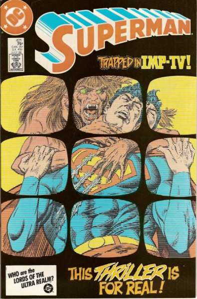 Superman #421 Comic Books - Covers, Scans, Photos  in Superman Comic Books - Covers, Scans, Gallery