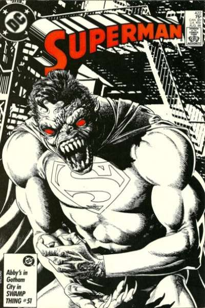 Superman #422 Comic Books - Covers, Scans, Photos  in Superman Comic Books - Covers, Scans, Gallery