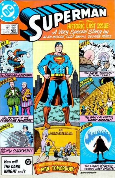 Superman #423 comic books - cover scans photos Superman #423 comic books - covers, picture gallery