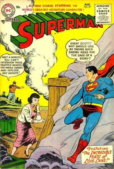 Superman #99 Comic Books - Covers, Scans, Photos  in Superman Comic Books - Covers, Scans, Gallery