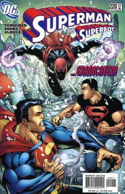 Superman #220 comic books - cover scans photos Superman #220 comic books - covers, picture gallery