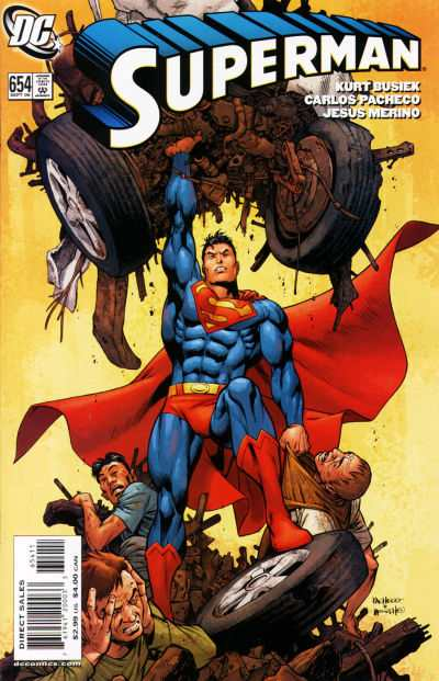 Superman #654 comic books - cover scans photos Superman #654 comic books - covers, picture gallery