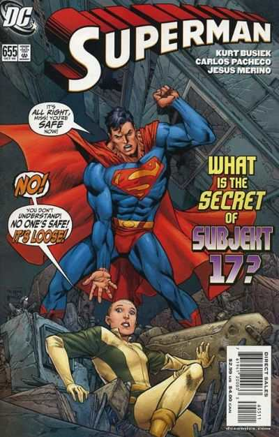 Superman #655 Comic Books - Covers, Scans, Photos  in Superman Comic Books - Covers, Scans, Gallery