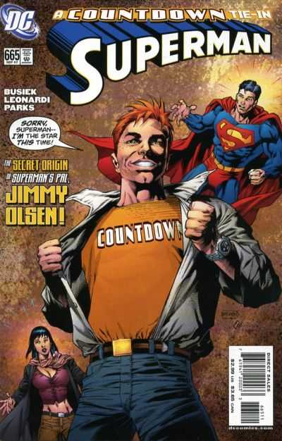 Superman #665 Comic Books - Covers, Scans, Photos  in Superman Comic Books - Covers, Scans, Gallery