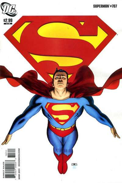 Superman #707 comic books - cover scans photos Superman #707 comic books - covers, picture gallery