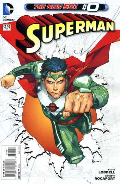 Superman #0 comic books - cover scans photos Superman #0 comic books - covers, picture gallery