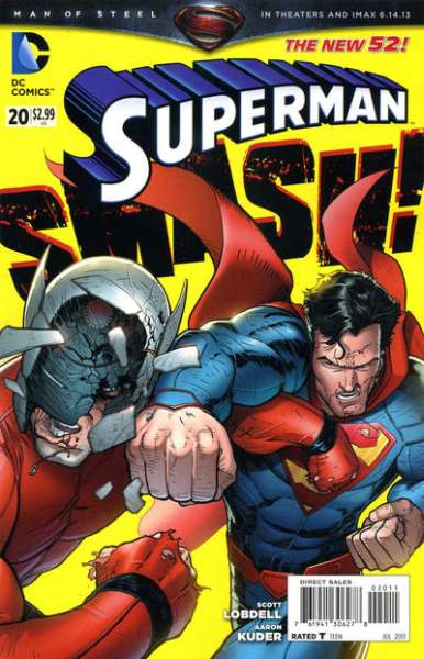 Superman #20 comic books - cover scans photos Superman #20 comic books - covers, picture gallery