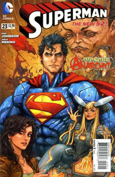 Superman #23 comic books - cover scans photos Superman #23 comic books - covers, picture gallery
